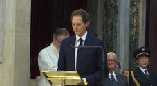 Elkann ricorda Sergio Marchionne nel Duomo di Torino
