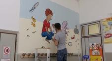 Murales sui migranti alla scuola  primaria, Forza Nuova: «Va tolto»