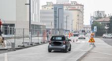 """Oggi pomeriggio riapre in entrambi i sensi di circolazione via Ca' Marcello, la nuova """"strada degli alberghi"""" di Mestre"""