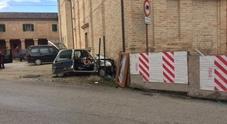 Con l'auto contro una chiesa Anziana di 72 anni in gravi condizioni a Torrette