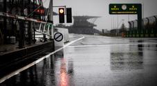 Debutto rinviato per Schumacher jr, il maltempo impedisce lo svolgimento del 1° turno libero del Nurburgring