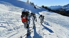 Gli alpini del Settimo Reggimento impegnati nelle prove Casta