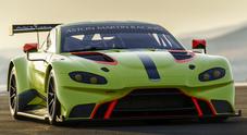 """Aston Martin Vantage GTE: la nuova """"belva"""" per l'endurance mette nel mirino la 24 Ore di Le Mans"""