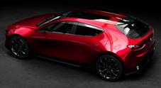 Mazda Kai Concept, la futura generazione della 3 celata nel prototipo esposto a Tokyo