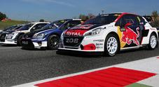 WRX, in Belgio Ekström (Audi) punta al poker di successi. Loeb (Peugeot) cerca il riscatto