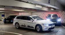 Volkswagen Group, ora le auto cercano il parcheggio da sole