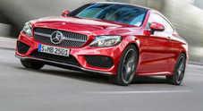 Mercedes Classe C Coupé anche in versione AMG: fino a oltre 500 cavalli