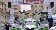 Rally Sanremo: Breen-Nagle su Škoda vincono al fotofinish sulla Ford di Campedelli
