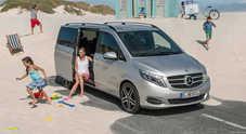 Svolta Mercedes, arriva la Classe V: la monovolume per grandi famiglie
