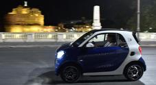 Roma, la città più Smart: ora accelera la versione a batterie Electric Drive