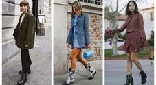 Tre modelli di scarpe  per l'inverno 2019 /Foto