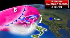Meteo, weekend di maltempo e caldo anomalo Ecco le città a rischio pioggia