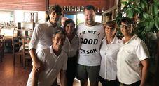Matteo Salvini dee-jay: blitz del ministro a Fregene con la fidanzata Elisa Isoardi