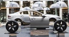 "Jaguar, grande successo al Fuorisalone 2019: la nuova Jaguar XE ""decostruita"" è spettacolare"