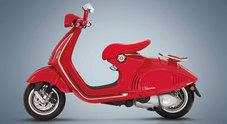 Vespa 946 RED si veste interamente di rosso per contribuire alla lotta all'Aids