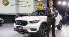 """L'anno della Volvo. La casa svedese conquista per la prima volta il premio """"Car of the year"""" con la XC40"""