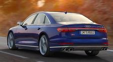 Audi S8, l'ammiraglia dal cuore sportivo. Un V8 da 571 cv, tanto high tech e comfort sempre al top