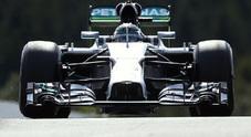 GP Belgio, Mercedes domina il venerdì: Rosberg davanti a Hamilton, 5° Raikkonen