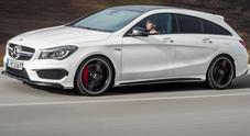 CLA Shooting Brake, cresce ancora la famiglia della Mercedes più piccola