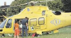 San Severino, cade dopo il salto: 55enne con lesioni alla colonna vertebrale