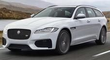 Jaguar XF Sportbrake, il Giaguaro mette la coda: ecco la wagon sportiva e spaziosa
