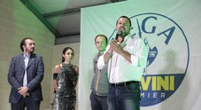 Salvini fiume in piena tra gli applausi: «La mafia è arrivata anche in Friuli»