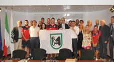 Anche la Regione Marche premia l'Italservice campione d'Italia