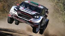 Rally Argentina, Evans sempre in testa ma si riduce il vantaggio su Thierry Neuville (Hyundai i20)