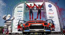 Ogier vince per la quinta volta il rally del Messico. Citroen C3 davanti a Toyota Yaris di Tänak