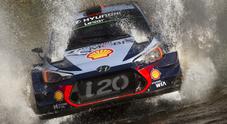 WRC, in Argentina Neuville strappa il successo a Evans per 7 decimi al Power Stage
