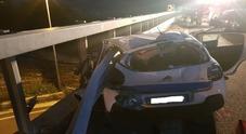 Terribile  incidente nella notte: muore un giovane di 23 anni