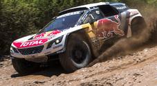 Loeb (Peugeot) e Price (KTM) vincono la 2° tappa e balzano in testa alle classifiche