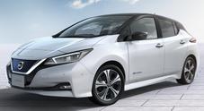 Nissan Leaf parte a razzo: già 10 mila ordini in Europa per la nuova elettrica che arriverà a febbraio