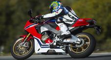 CBR 1000 RR Fireblade, la supersportiva Honda migliora ancora: più potenza e velocità