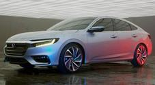 Honda porterà a Detroit nuova generazione dell'ibrida Insight che avrà consumi record