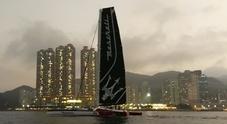 Giovanni Soldini e il team Maserati Multi 70 rinviano la partenza per il record Hong Kong-Londra