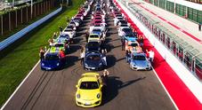 Porsche Festival, successo oltre le attese al Mugello. Più di 500 bolidi provenienti da tutta Europa