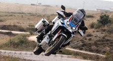 """Honda, al via in primavera """"Africa Twin Tours"""". Prima tappa i Balcani con il dakariano Casuccio"""