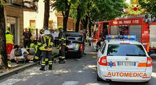 Schianto fra due auto: una si ribalta  Ferite due donne e un minore /Foto