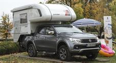 Fiat Fullback Cross, versatilità estrema: con il Tischer Trail diventa anche una casa