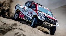 Toyota allunga, Al-Attiyah vince e resta leader. Brabec (Honda) prende tappa e classifica