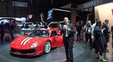I segreti della nuova Ferrari 488 Pista svelata a Ginevra 2018