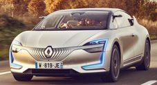 Renault Symbioz: ecco l'ammiraglia elettrica, autonoma e connessa che arriverà nel 2023
