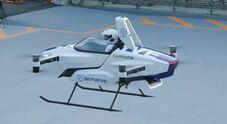 L'auto volante giapponese al debutto: il volo di prova di Sd-03