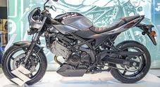 Suzuki SV650X ABS, la naked giapponese diventa café racer