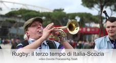 Rugby: il terzo tempo di Italia-Scozia