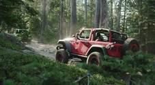 La nuova Wrangler protagonista del Jeep Rubicon Trail Experience