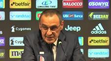 Juve, Sarri: «Champions? Si parte con l'obiettivo di vincere»