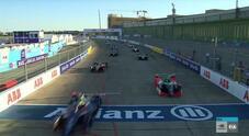 Formula E, i momenti più spettacolari di gara 7 a Berlino