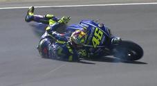 Le Mans, Rossi: «Davvero un peccato. Mi sentivo bene, ho commesso un errore cercando di attaccare»